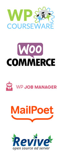 Wordpress support - WP Courseware, Woocommerce